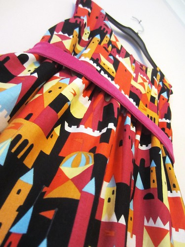 castle peeps party frock detail