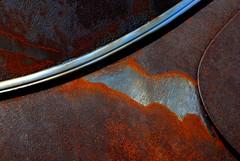 (davidwilliamreed) Tags: old abstract detail car metal rusty textures crusty patina