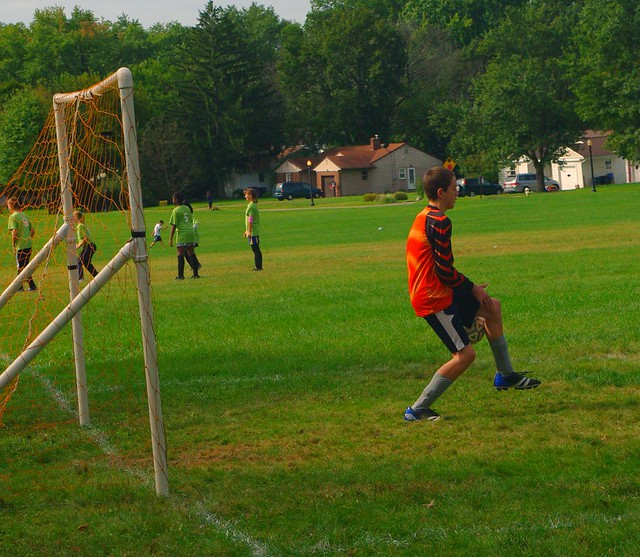 Noah as Goalie 2011