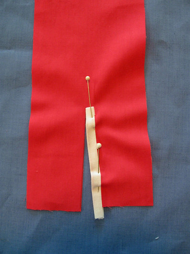 Sample placket 4