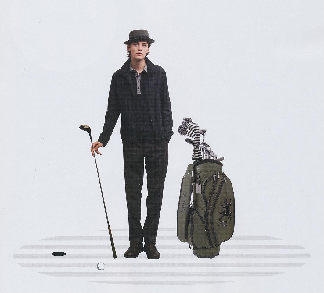 Jaco Van Den Hoven5109_agnes b Golf(BRUTUS717_2011_10_01)
