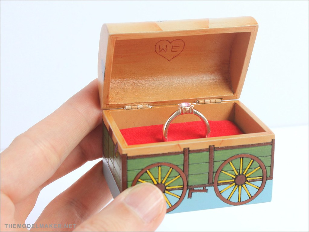 Toy Story Engagement Ring Box Themodelmaker