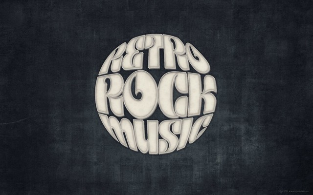 FONTFABRIC »Kare« ✘ Retro Rock Music (for widescreen displays)