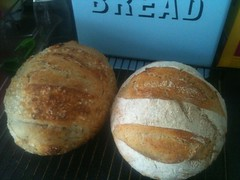 Twins (boxman) Tags: bread sourdough