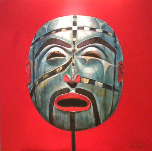 West Coast Mask - Painting - Realism