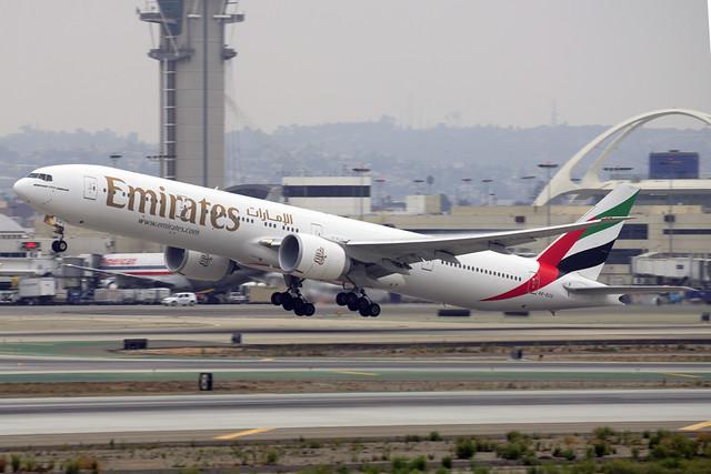 Emirates Boeing 777-31H(ER) (A6-ECU)