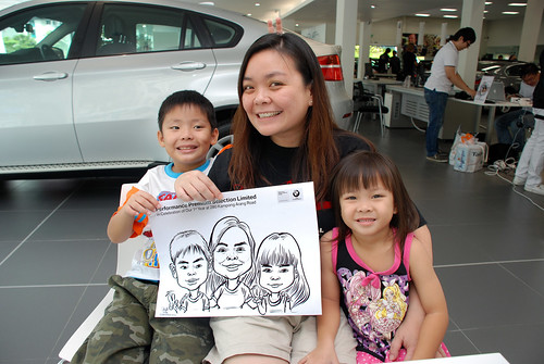 Caricature live sketching for Performance Premium Selection first year anniversary - day 4 - 3