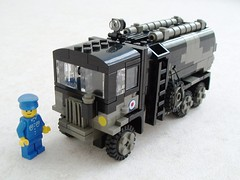 RAF Matador Refueler (1) (Mad physicist) Tags: truck lego british tanker raf matador aec refueler
