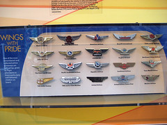 Little Plastic Wings (pr0digie) Tags: seattle kids children airplane wings little wing pins plastic souvenir gift airline museumofflight collectible pilot freebie