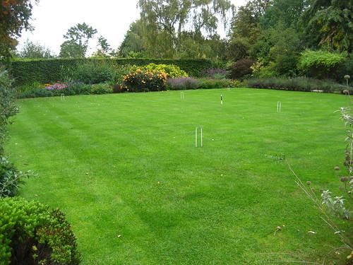 Wolfson College croquet lawn