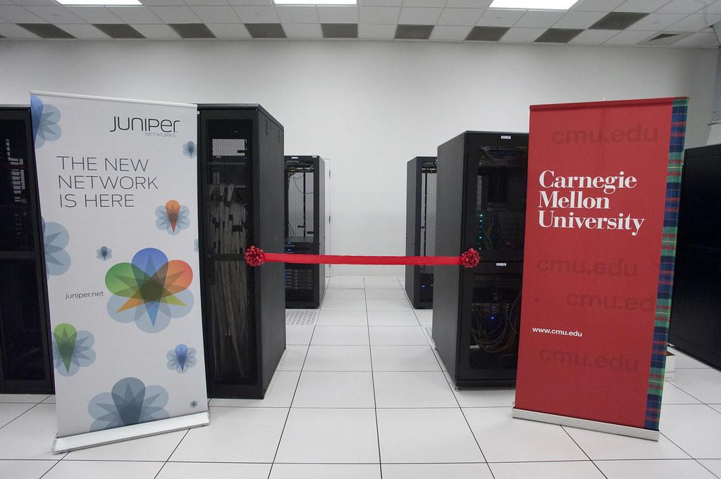 Juniper Networks Ribbon Cutting Ceremony at Carnegie Mellon University 01