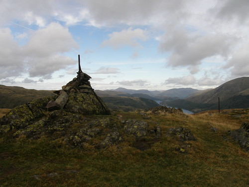 Steel Fell view - Thirlmere, Skiddaw and Blencathra beyond