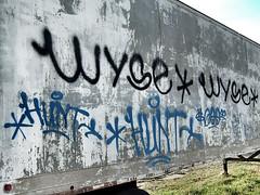 Wyse • Wyse • Hunt • Hunt (Behind the Bright Side) Tags: graffiti richmond va rva