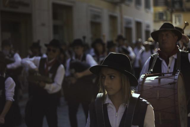 Banda musicale di Bergamo al Tocatì 2011 di Verona