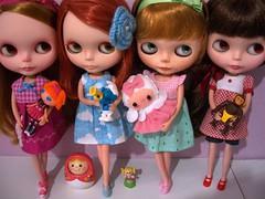 Girls ♥ toys!