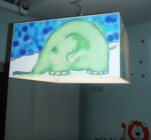 Lampara de Techo Colgante Diseño para Bebes by Ludica Iluminacion
