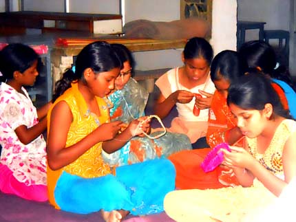 Vocational Training at Orphanage