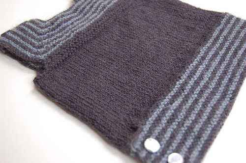Lachlan's top - a purl free vest
