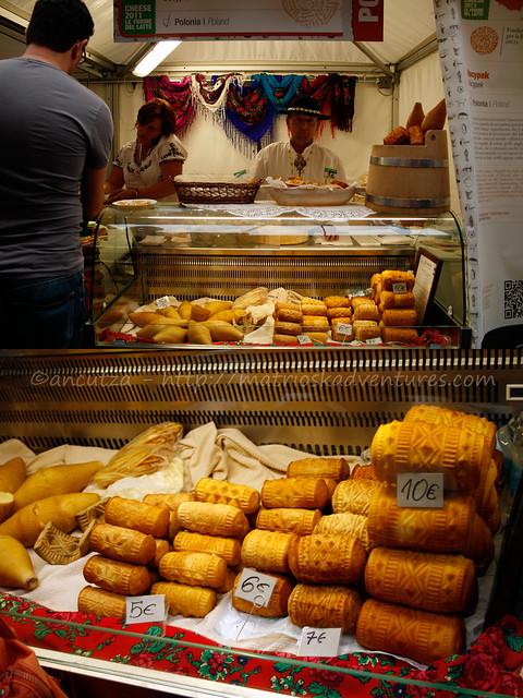 foto immagine formaggio oscypek polonia cheese