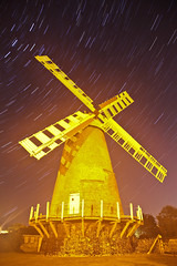 Polegate Windmill (Annavr6Photography) Tags: longexposure light lightpainting windmill night canon star sussex flash dome stacking domes manfrotto polegate startrail flah gelflash polegatewindmill 5dmkll