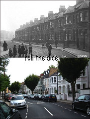Settrington Road`1912-2011 (roll the dice) Tags: old uk london art history classic architecture century mercedes chelsea traffic southpark collection flats gb local 1912 expensive fulham oldandnew pastandpresent londonist sw6 parsonsgreen hurlingham bygone hereandnow hammersmithfulham walhamgreen