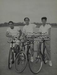 Drie wielrijders