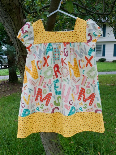 Big sister's ABC dress