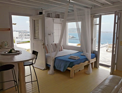 apartment (duqueros) Tags: island europa europe honeymoon apartment hellas insel greece griechenland appartement mykonos marinaview kyklades kykladen   duqueiros