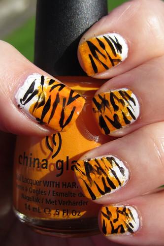 Tiger Nails (sunlight)