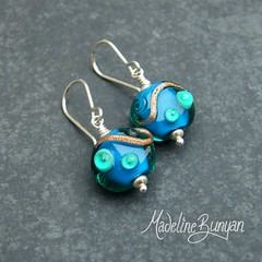 "Sea Blue Earrings • <a style=""font-size:0.8em;"" href=""https://www.flickr.com/photos/37516896@N05/6194937118/"" target=""_blank"">View on Flickr</a>"