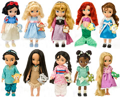 Disney Animators' Doll Collection Preview (Madambrightside) Tags: ariel doll jasmine aurora belle cinderella tiana aladdin snowwhite rapunzel sleepingbeauty pocahontas beautyandthebeast tangled mulan disneyprincess thelittlemermaid theprincessandthefrog