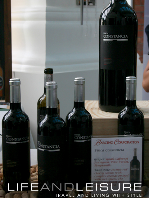 Constancia from Barcino Corporation - Enderun Wine Tasting