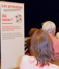 Réunion des Primaires 2012 du Parti Socialiste