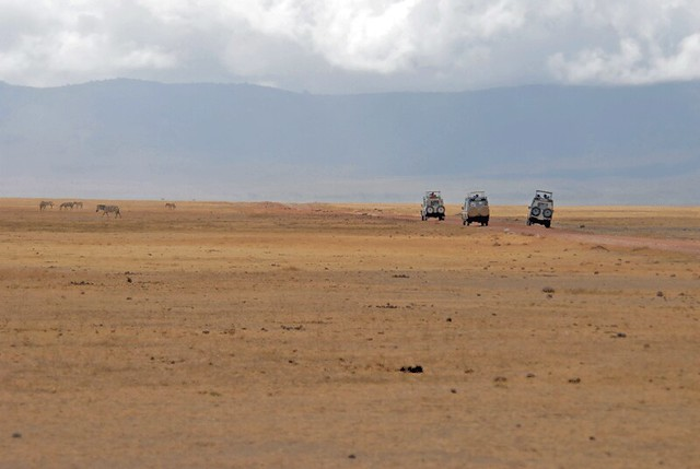 Game Drive, Ngorogoro Crater