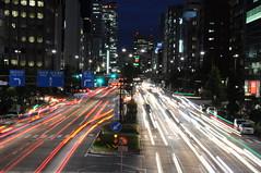 nagoya7843 (tanayan) Tags: road light urban japan night alley nikon cityscape view nagoya    aichi  strret streem d5000