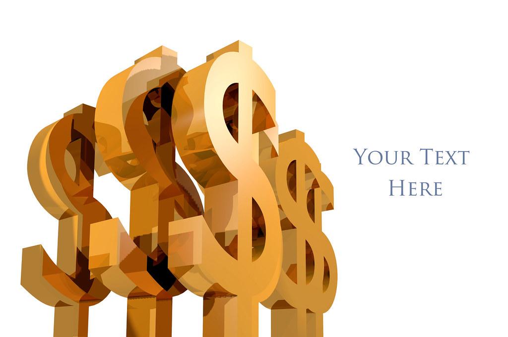 3D Money Symbol