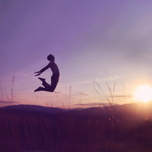 Just Joel Jumping
