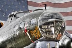 Memphis Belle stars and stripes (stufoto1) Tags: art canon b17 duxford boeing 1945 warbirds flyingfortress starsandstripes sallyb memphisbelle usaaf b17preservation