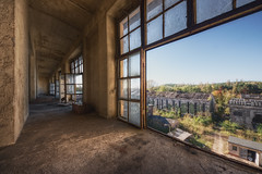 Industry Urban Exploration (Matthias (Bolle)) Tags: urban abandoned industry window architecture illustration high arquitectura industrial factory fotograf tour dynamic image fenster exploring fabrik explorer sigma location ruine urbanexploration architektur exploration der r