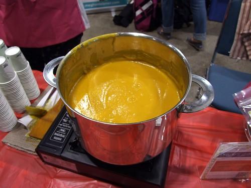 Megan Telpner's Curried Cauliflower soup