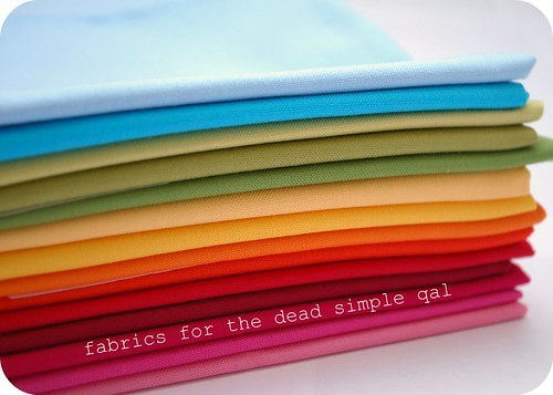 fabrics for the dead simple qal