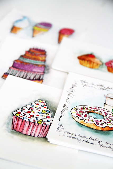 new notecards for online shop