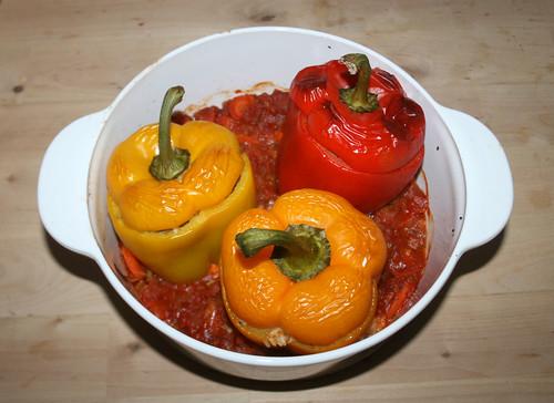 34 - Gefüllte Paprika / Stuffed Paprika - Fertig gebacken