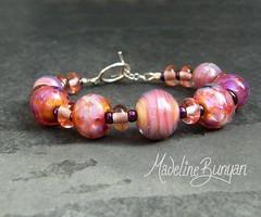 "Pink Bracelet, Handmade Clasp • <a style=""font-size:0.8em;"" href=""https://www.flickr.com/photos/37516896@N05/6202771957/"" target=""_blank"">View on Flickr</a>"