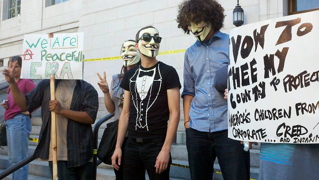Anonymous @ Occupy LA