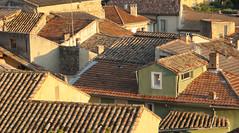The Village 1. (Christine Dolan) Tags: sunlight france rural village rooftops g11