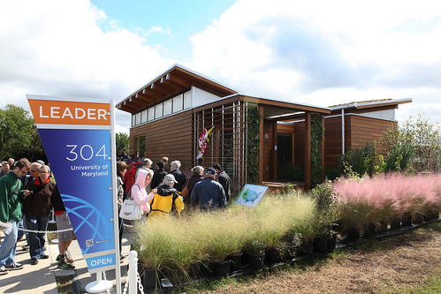 University of Maryland First Place in Solar Decathlon