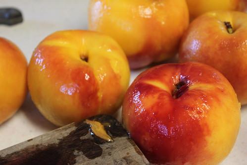 juicy fall peaches