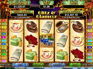 Glitz & Glamour Slot Machine