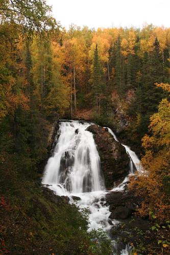 South Fork Eagle River Falls